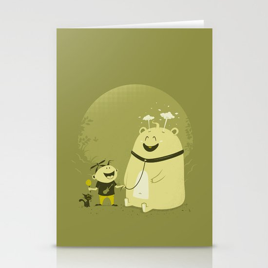 Meet Momo Stationery Cards