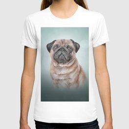Drawing dog Pug T-shirt