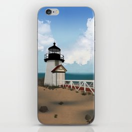 Brant Point Light iPhone Skin