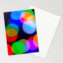 Christmas_Lights Bokeh - I Stationery Cards