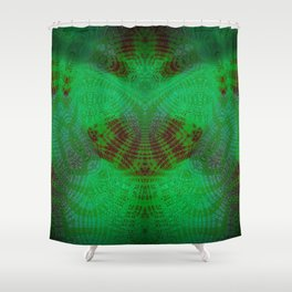 Greener Pattern 9 Shower Curtain
