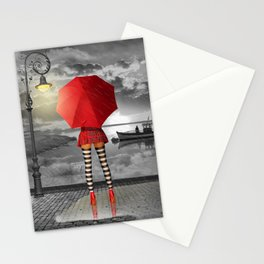 Sunny outlook Stationery Cards