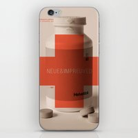 helvetica iPhone & iPod Skins featuring Neue Helvetica by Tom Davie