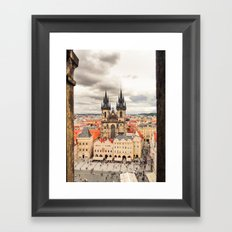PRAGUE 3 Framed Art Print