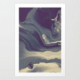 Marble Y Art Print