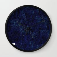 mouse Wall Clocks featuring mouse by liva cabule