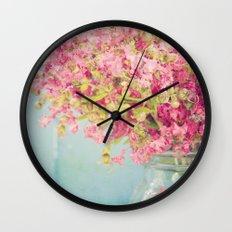 oh crepe Wall Clock