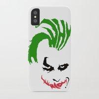 joker iPhone & iPod Cases featuring Joker by The Artist