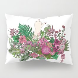 Botanical Bird Bouquet Pillow Sham