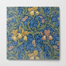 William Morris Flowers Metal Print