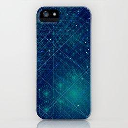 Cosmic Geometry iPhone Case