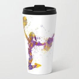 young woman cheerleader 03 Travel Mug