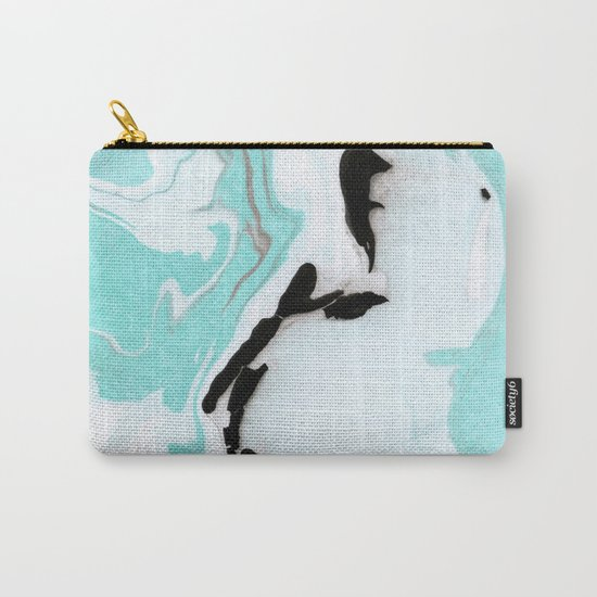 blue marble agathe Carry-All Pouch