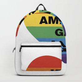 Make America Gay Again Pride LGBT Shirt Backpack