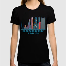 Bangkok Lak Si Thailand Skyline T-shirt