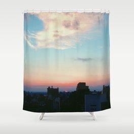 Bye Bye Bye Sun Shower Curtain