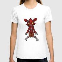 fnaf T-shirts featuring FNAF Foxy by Draikinator