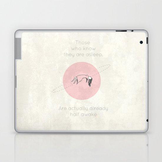 The Insomnia of Heisenberg Laptop & iPad Skin