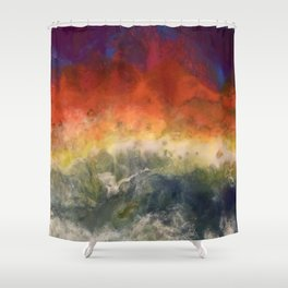 """""""Storm"""" by Laurie Ann Hunter Shower Curtain"""