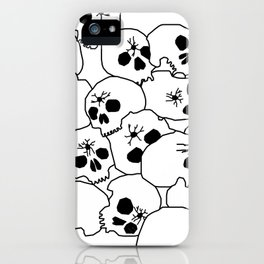 Zombies Skulls iPhone Case