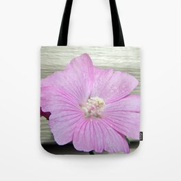 Pink Musk Mallow Tote Bag