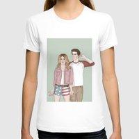 stiles T-shirts featuring Malia Tate/Stiles Stilinski by vulcains