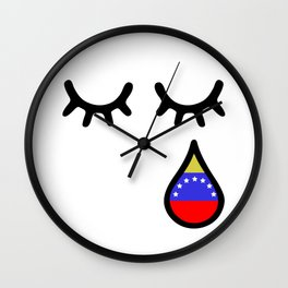 Oscar Perez Hero Venezuela Wall Clock