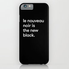 Le Nouveau Noir iPhone 6s Slim Case