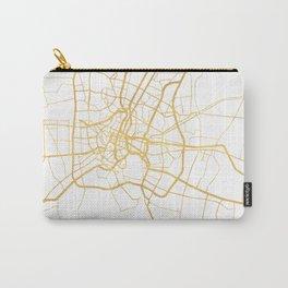 BANGKOK THAILAND CITY STREET MAP ART Carry-All Pouch