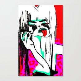 Cruller DeVILE Canvas Print