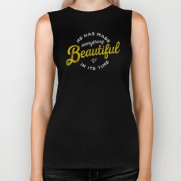BEAUTIFUL IN TIME Biker Tank