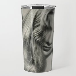 Veronica Lake black and white photography / black and white photographs Travel Mug