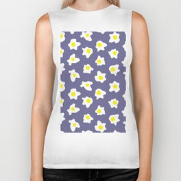 Eggs Over Blue Biker Tank
