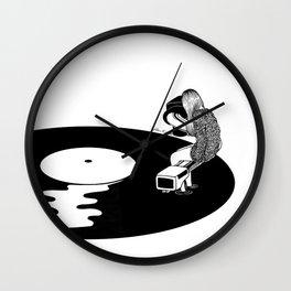Don't Just Listen, Feel It Wall Clock