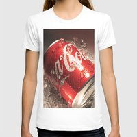 coca cola T-shirts featuring Coca Cola by MarianaManina