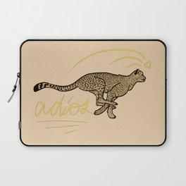 ADIOS CHEETAH modern graphic design Laptop Sleeve