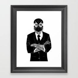 SOLAR SQUAD MAN 2 Framed Art Print