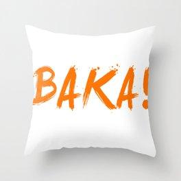 Baka Inspired Shirt Throw Pillow