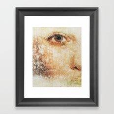Mist People Framed Art Print