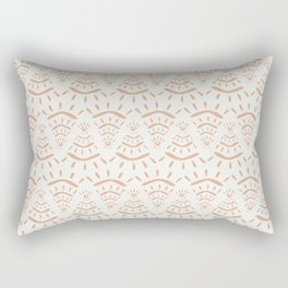Eye Pyramids Rectangular Pillow