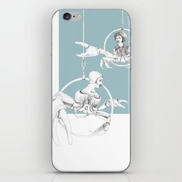 Weird & Wonderful: Crab Circus iPhone Skin