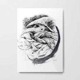 Eileen the Crow Metal Print