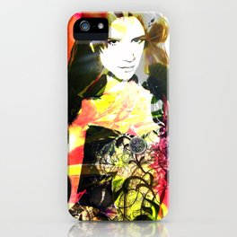 Flowerwoman  iPhone Case