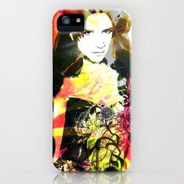Flowerwoman  iPhone Case