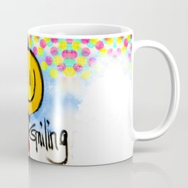 Still smiling... Coffee Mug