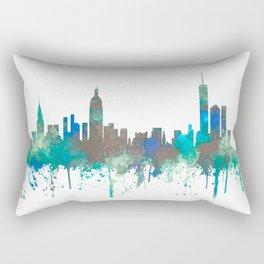 New York Skyline - SG Jungle Rectangular Pillow