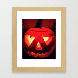 Jacko - the Lantern Framed Art Print