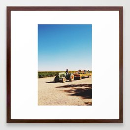 hayrack Framed Art Print