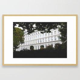 South Kensington, London Framed Art Print