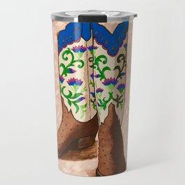 Cowgirl up! Travel Mug